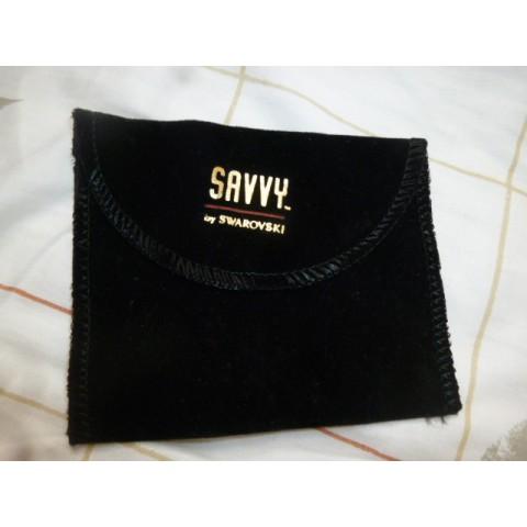 Savvy (by Swarovski) 黑色袋