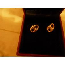 (二手) 18K 金耳環