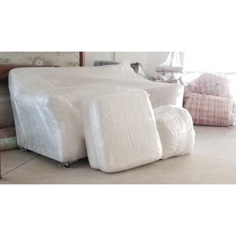 白色二人沙發(連咕臣、咕臣套)