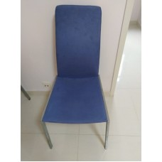 餐椅四張 - 高背金屬腳