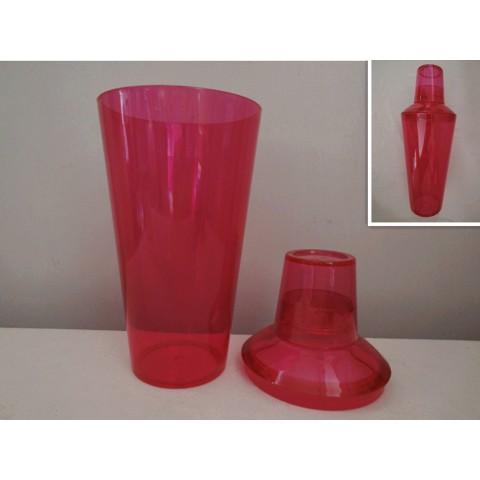 全新 調酒瓶 粉紅膠 (shaker)
