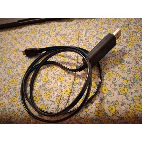 (二手) USB 叉手機線