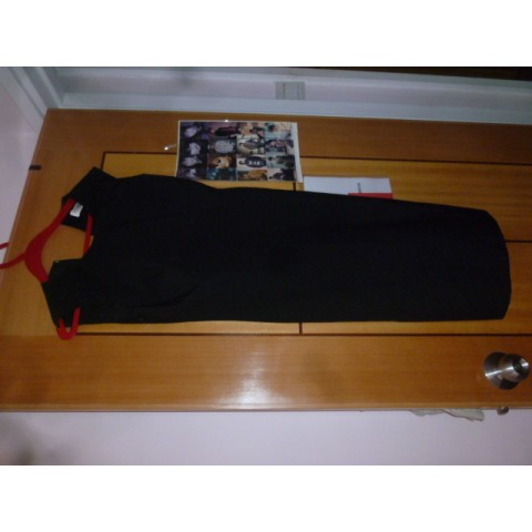 (二手) COZZI 黑色全身背心裙