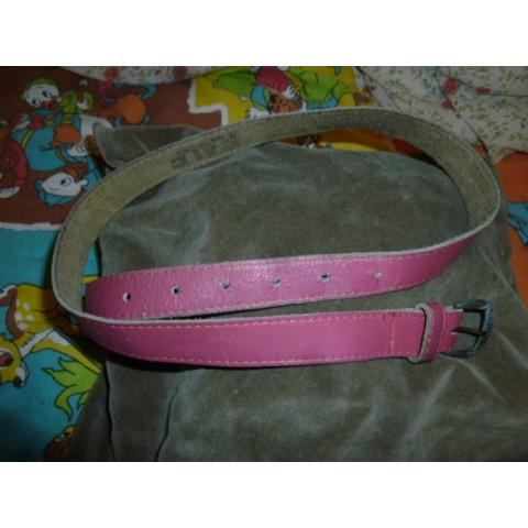 (二手) 粉紅色腰帶