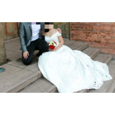 婚紗- 美麗純白 - 99% NEW - 99% 新