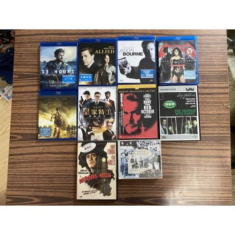 港版藍光Blu-Ray及DVD影碟(新淨少睇)