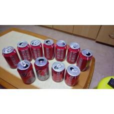 可口可樂罐11個- 珍藏用