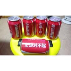 可口可樂罐5個- 珍藏用