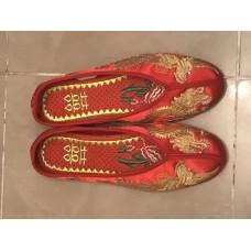 中式結婚龍鳳鞋