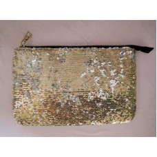 金色珠片 化妝袋 雜物袋