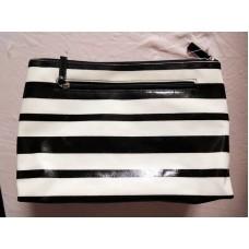 全新 黑白間 化妝袋 雜物袋