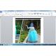 Elsa frozen 公主裙