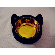 全新 蠟燭座 (黑色陶瓷)