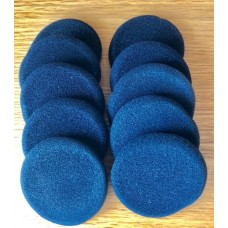 8對 1.5寸 100%全新【耳筒棉 耳機 耳塞棉 海綿套耳棉】Earphone Cushion Foam Pad