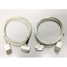 2條 iPhone 4 4s / iPod USB 傳輸充電線