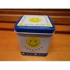 SAM_8825 Smile鐵盒3.5x3.5x4吋