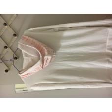 Jeanswest白色空調房防寒外套