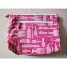 全新 化妝袋 雜物袋 收納袋 (粉紅) 2 個
