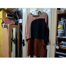 SAM_9100 全新PIL韓國黑啡色裙