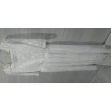 白色輕便裙輕婚紗 (適合160至165 cm中等身材穿著)