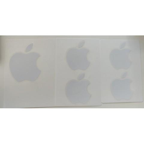 5 Apple stickers