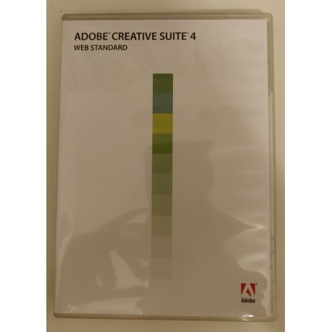 Adobe Creative Suite 4 (web standard)
