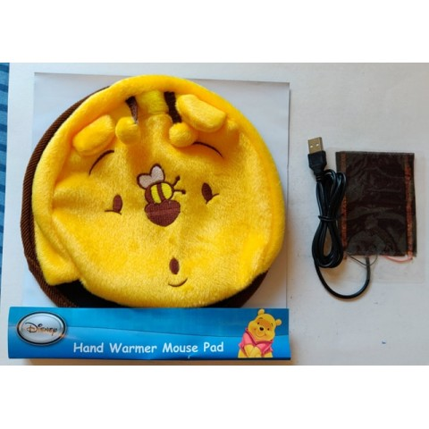 New Winnie The Pooh Hand Warmer Mouse Pad with USB plug