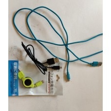android micro-USB charging cables