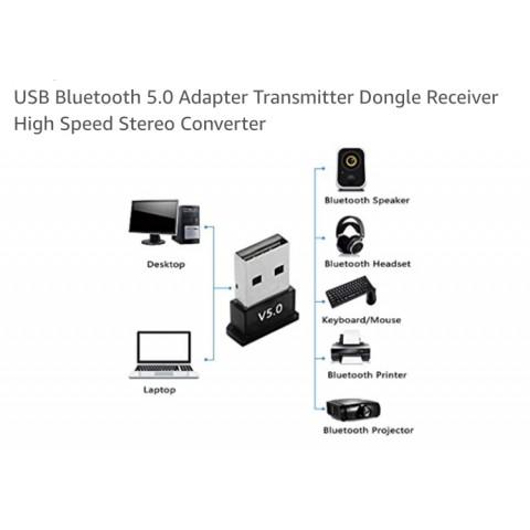 "USB Bluetooth Dongle ""Version 5.0"" (包平郵/Free Postage)"