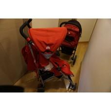 紅色嬰兒BB車/ Red Baby Cart Seat