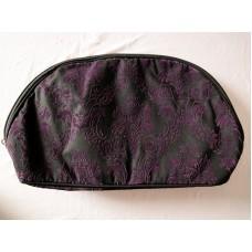 全新 化妝袋 雜物袋 收納袋 (黑紫) 2個