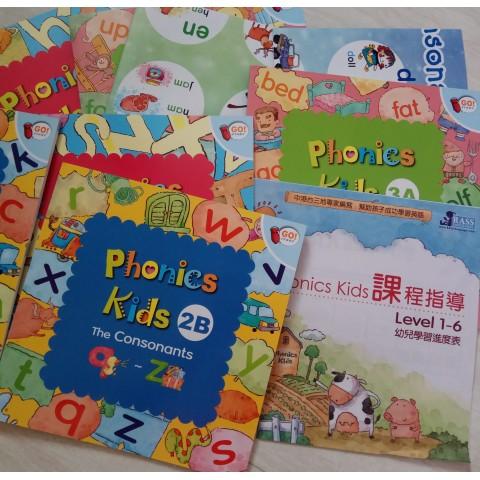 Phonics Kids -level 1-3