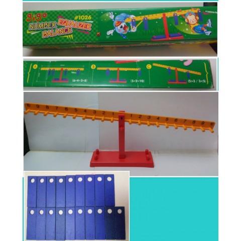 Gigo NUMBER EQUALIZER BALANCE #1026 (適合4歲或以上小童)   有盒