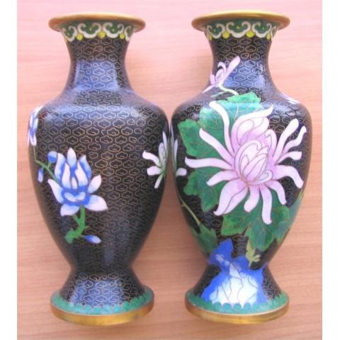 銅花瓶1對