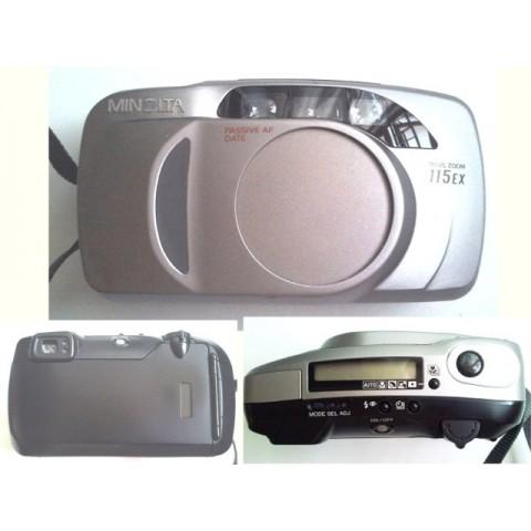 MINOLTA Riva Zoom 115EX 菲林自動相機
