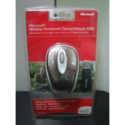 Microsoft 無線滑鼠 (全新)