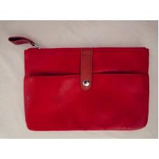全新 紅色化妝袋 雜物袋