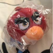 Angry bird keychain (new) 憤怒鳥鑰匙扣 (全新)