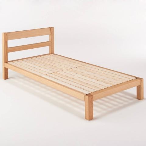 Muji single bed (oak wood, including mattress free)
