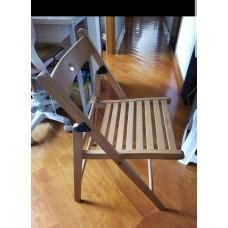 户外可摺合木椅