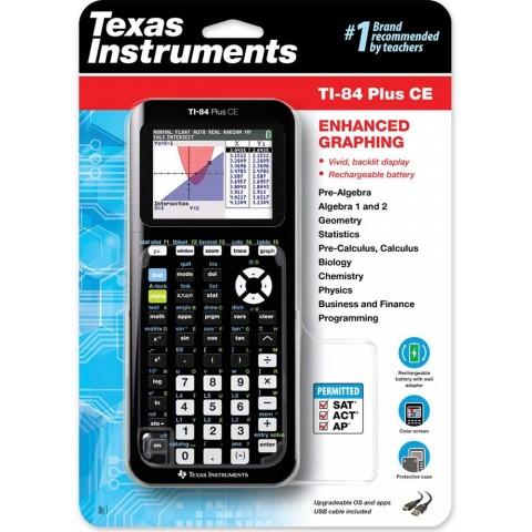 Texas Instruments TI-84 Plus CE 彩mon (9成新連usb叉電線)