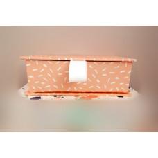 全新 長方形 紙盒 (粉紅)