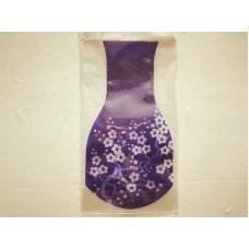 全新 環保 膠 花瓶 (紫色)