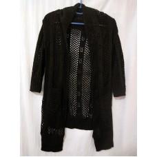全新 魚網衫外套長款七分袖