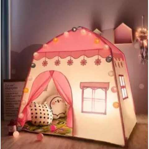 Small Indoor Girl Pink Princess Toy House Boy Play House Small House Children Tent Package Size