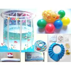(9成新) 諾澳嬰兒遊泳池 Baby swimming pool (適合0-2歲嬰兒)