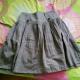 灰色半腰裙