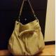 brown genuine leather bag