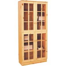 6成新 松木書櫃