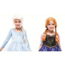 Cosplay wig - Fozen Elsa & Anna 小童公主假髮(可造大人款)